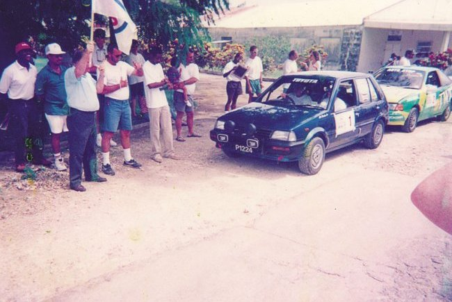 40th June Rally Start 1997