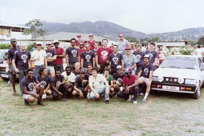 Barbados Rally Team T&T 1983