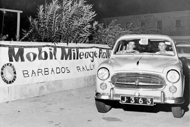 Bobby Gill MIleage Rally early sixties