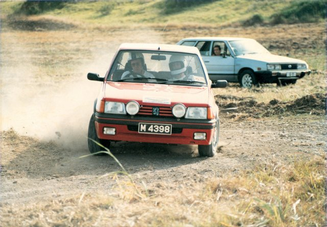 Cummins June Rally 1985