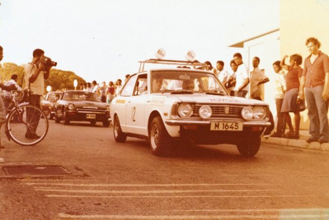 Geoffrey Parkinson 1977 June Rally