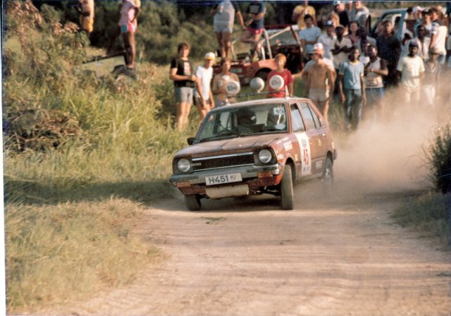 H car June Rally 1983