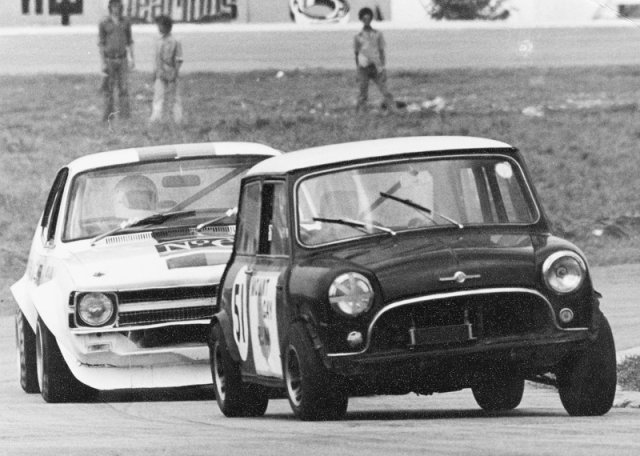 Hallam Edwards Mount Gay Mini leads Watkins