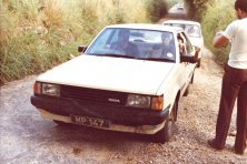 MP Car Mobil Economy Run 1985