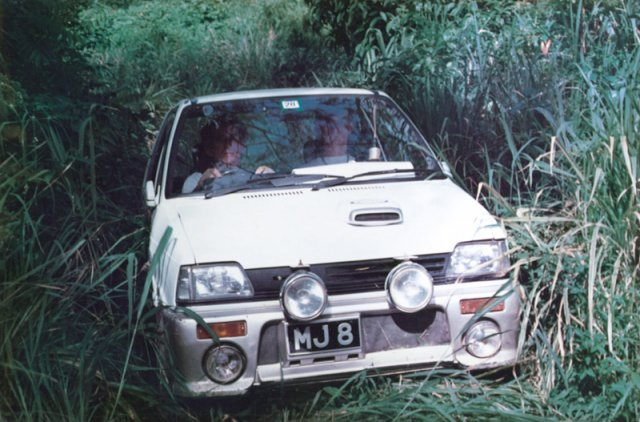 Mike Gill & Stewart Gill Esso June Rally