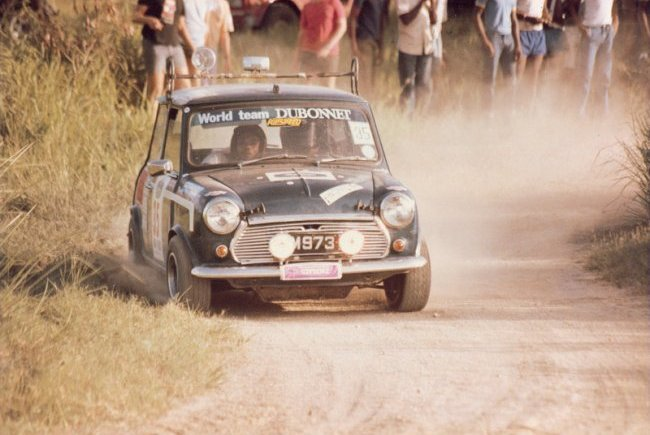 Mini M973 June rally  Andre Pix 1983