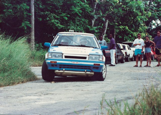 Minna Silankorva Mobil Stage Rally 1992