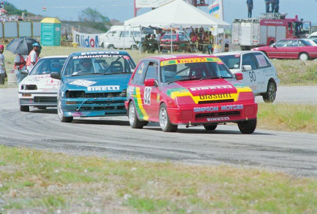 Noel leads Cummins Bushy park 1993