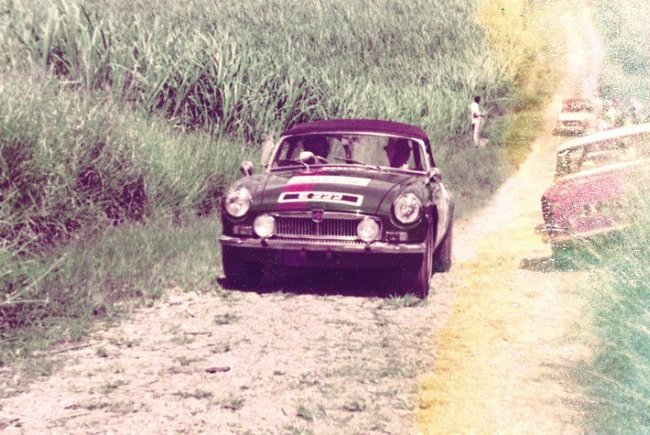 Paul Altman Volks Rally 1970