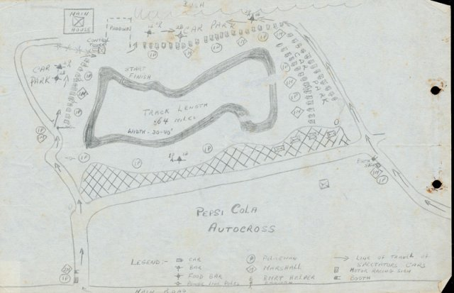 Pepsi Autocross Map