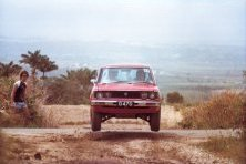 Peter Cox_Foster BRC 150 rally 1985