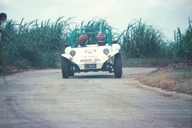 White Nassco Stage Rally 1990